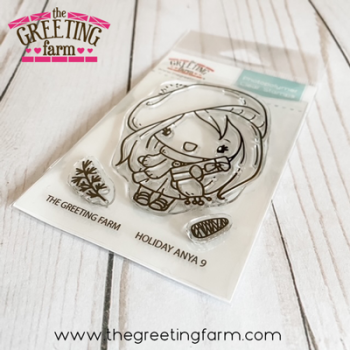 ***NEW*** Holiday Anya 9 clear stamp set - The Greeting Farm