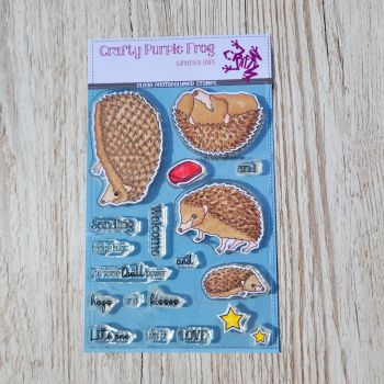 ****NEW**** Quill Power Stamp Set - Crafty Purple Frog