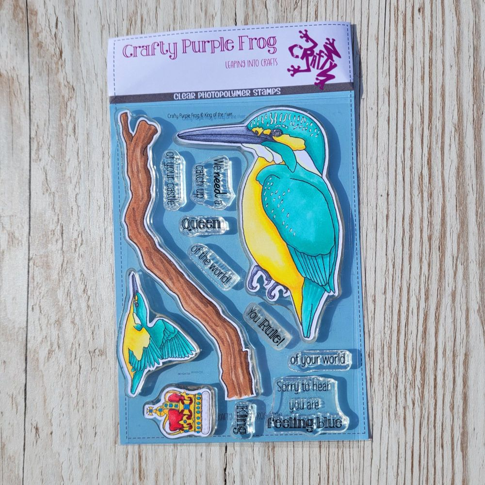 ****NEW**** King of the river Stamp Set - Crafty Purple Frog