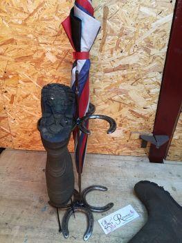 Wellie boot holder