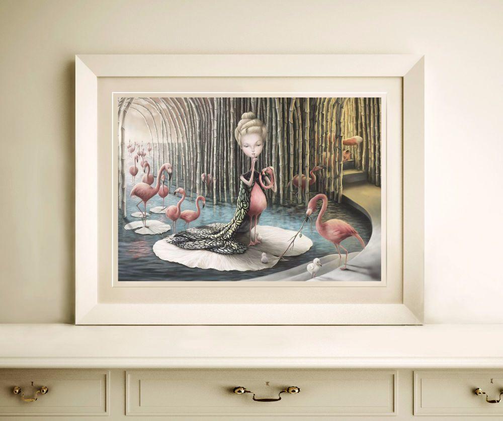 The Flamingo Queen's Revenge