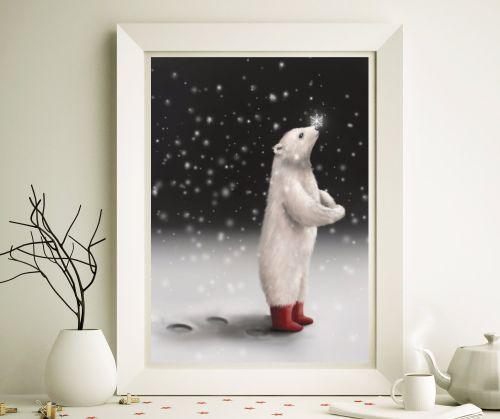 The Bear in Splendid Boots