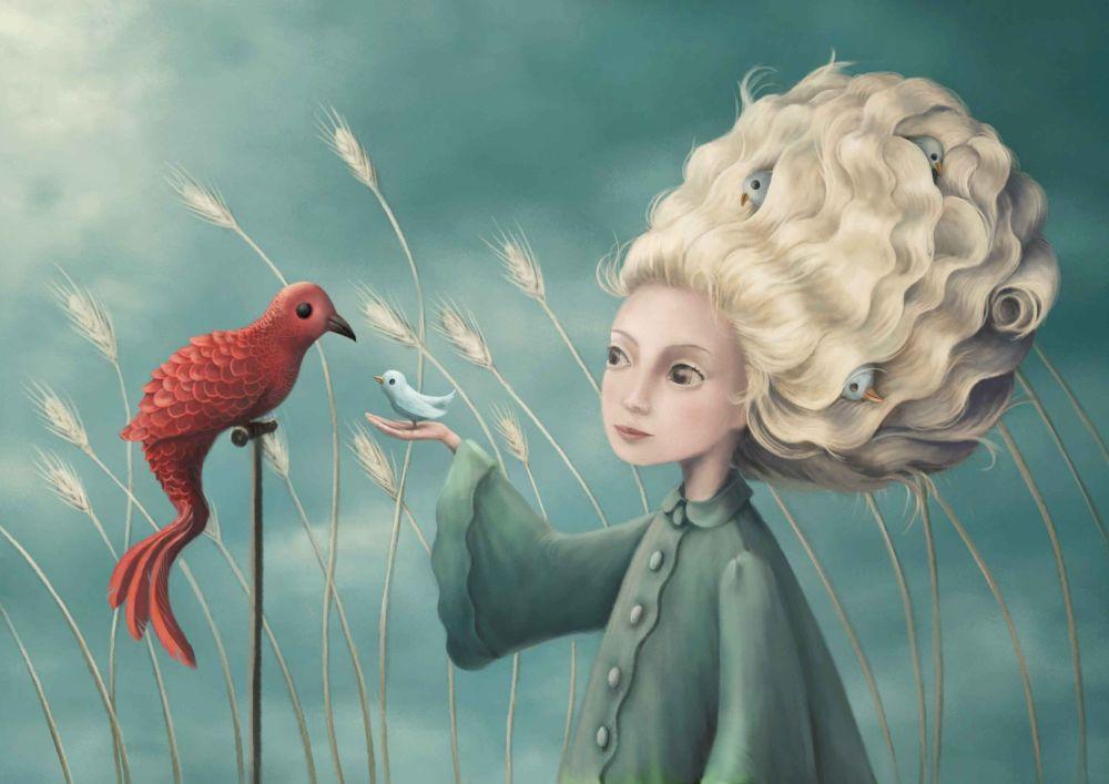 Bird Nest Card
