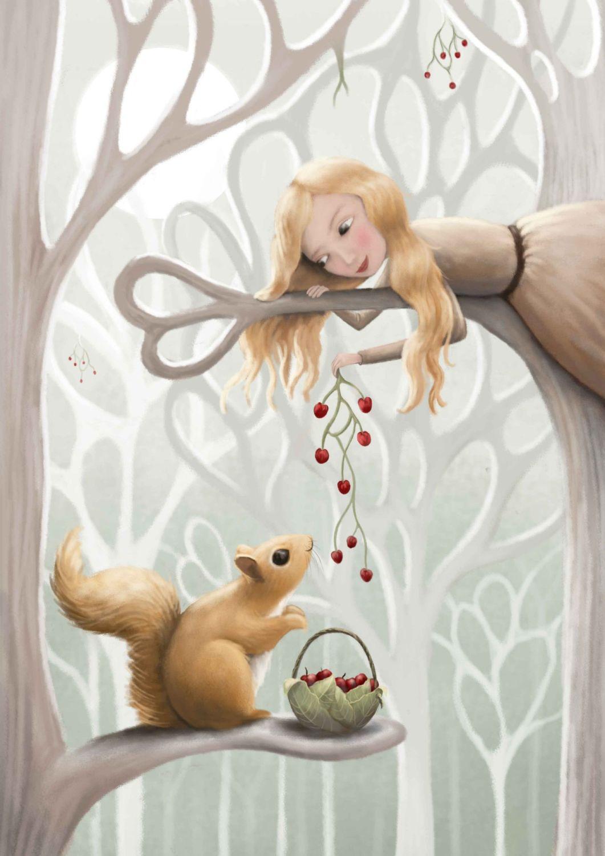 Squirrel! Card