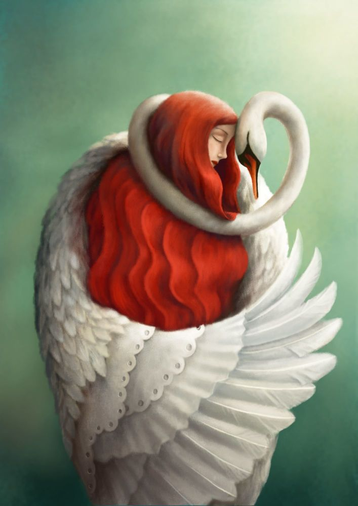 The Mute Swan Art Print