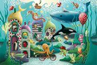 Aquatic Adventure  Art Print