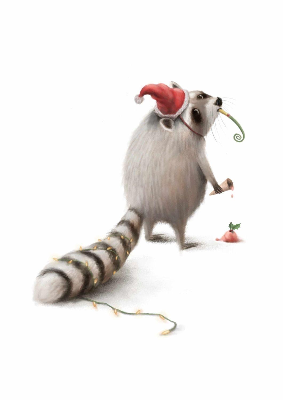 Raccoon and the Bab, Bad Christmas