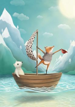 Land Ahoy! Art Print