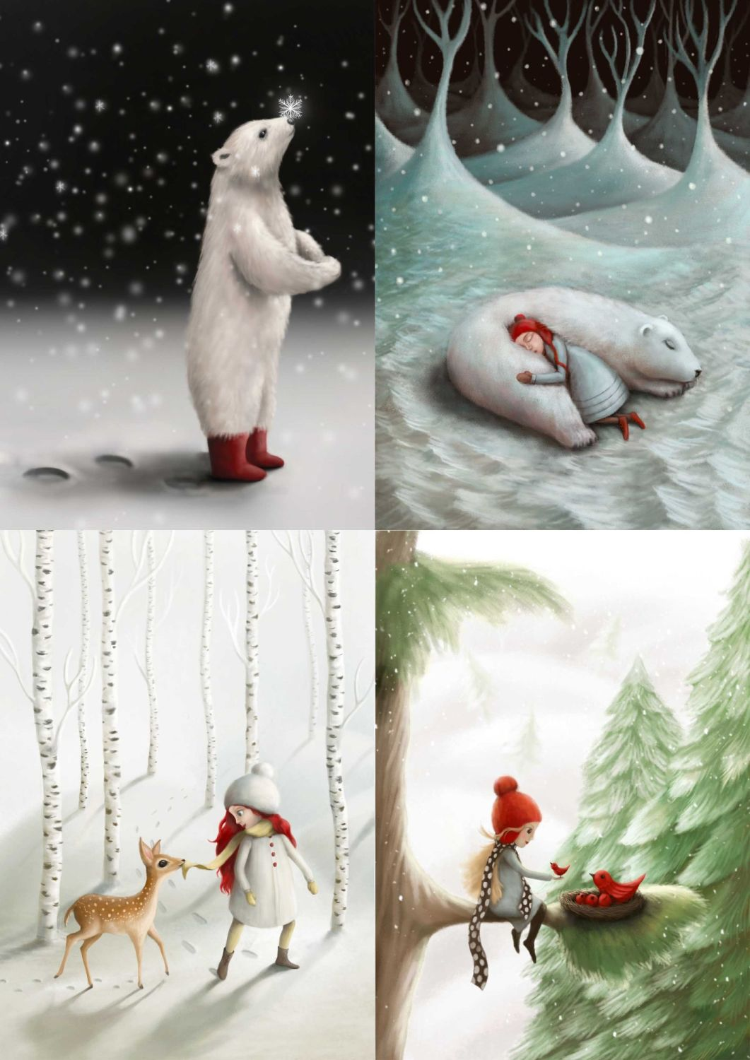 Winter Collection I Greeting Cards