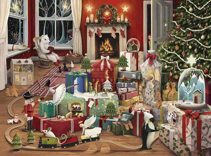 Enchanted Christmas Card