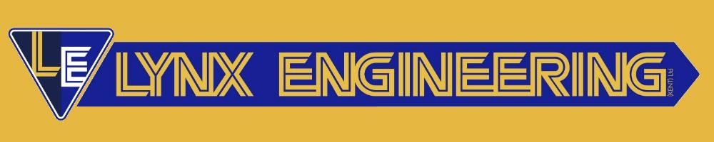 lynx logo yellow background