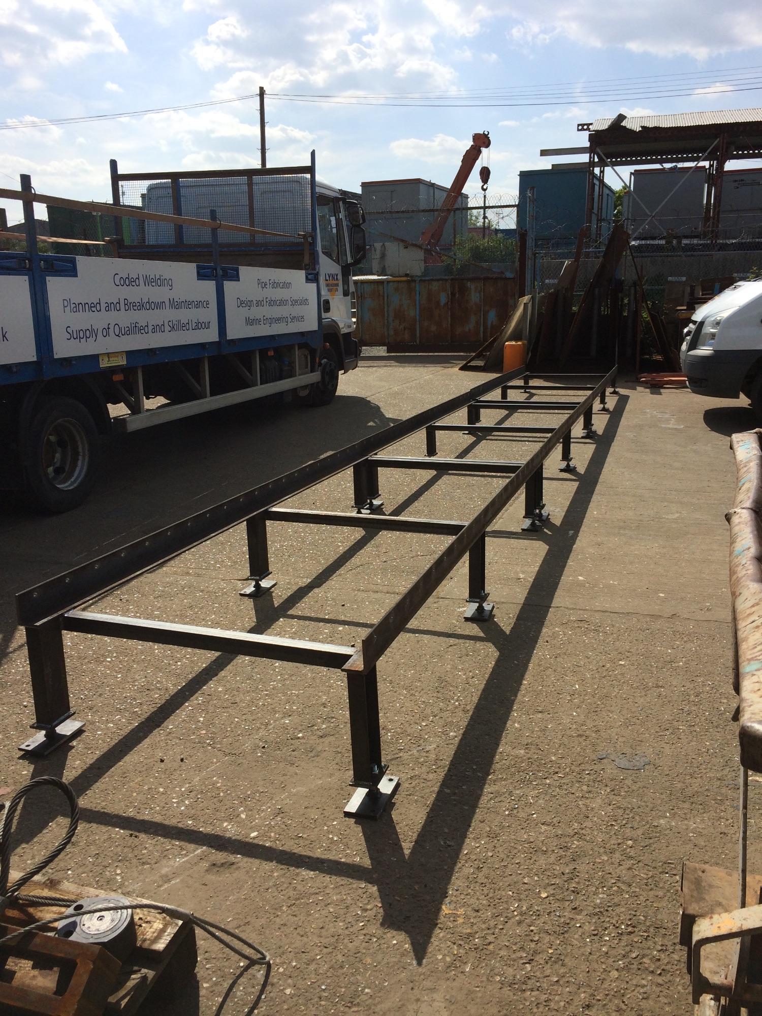 Lynx Engineering Conveyor Bed Frame