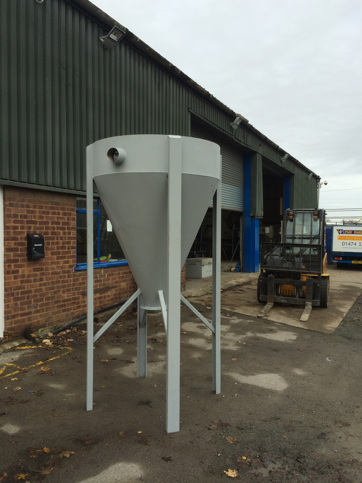 Bespoke Feed Hopper