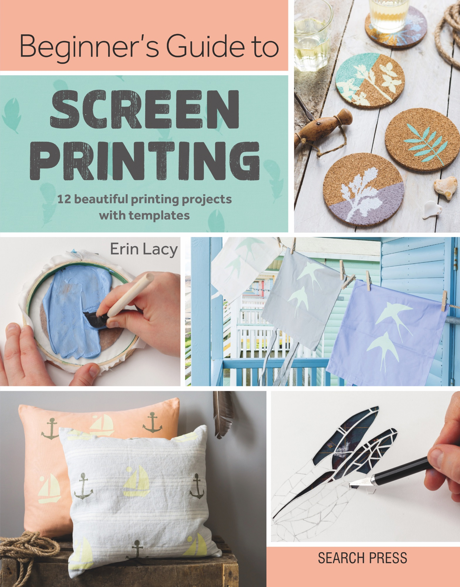 Beginners Guide to Screen Printing COVER