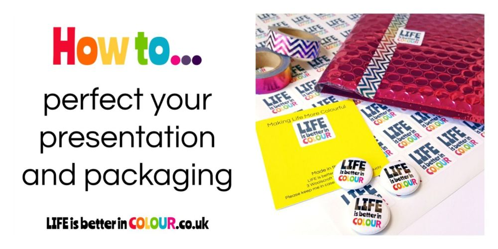 Colourful Packaging for Craft Businesses