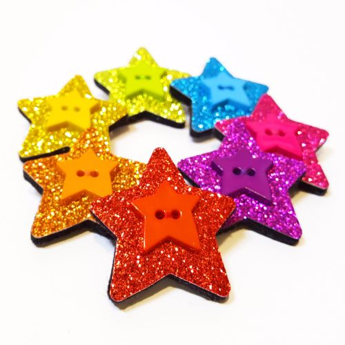 Sparkly Star Brooch