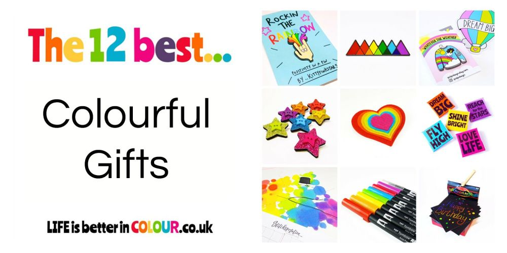 12 Best Colourful Gifts