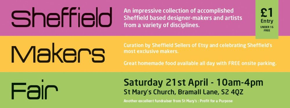 Sheffield Makers Fair Poster