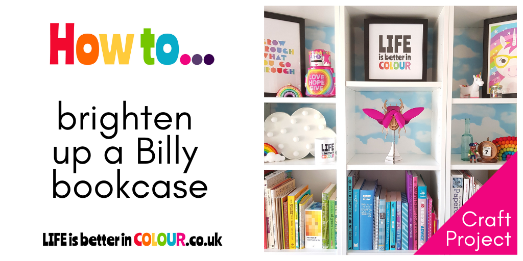 brighten up a Billy bookcase
