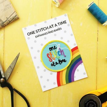 Rainbow Patch from EmMakesandBakes
