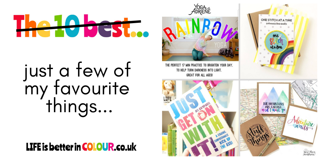 Find A Rainbow Favourite Finds