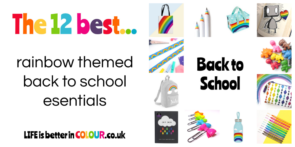 Colourful Back To School Essentials
