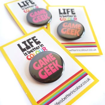 SALE! Game Geek Badge