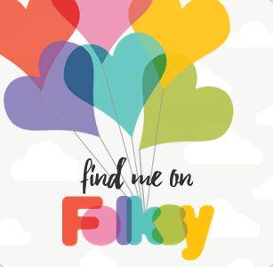 Find me on Folksy Logo
