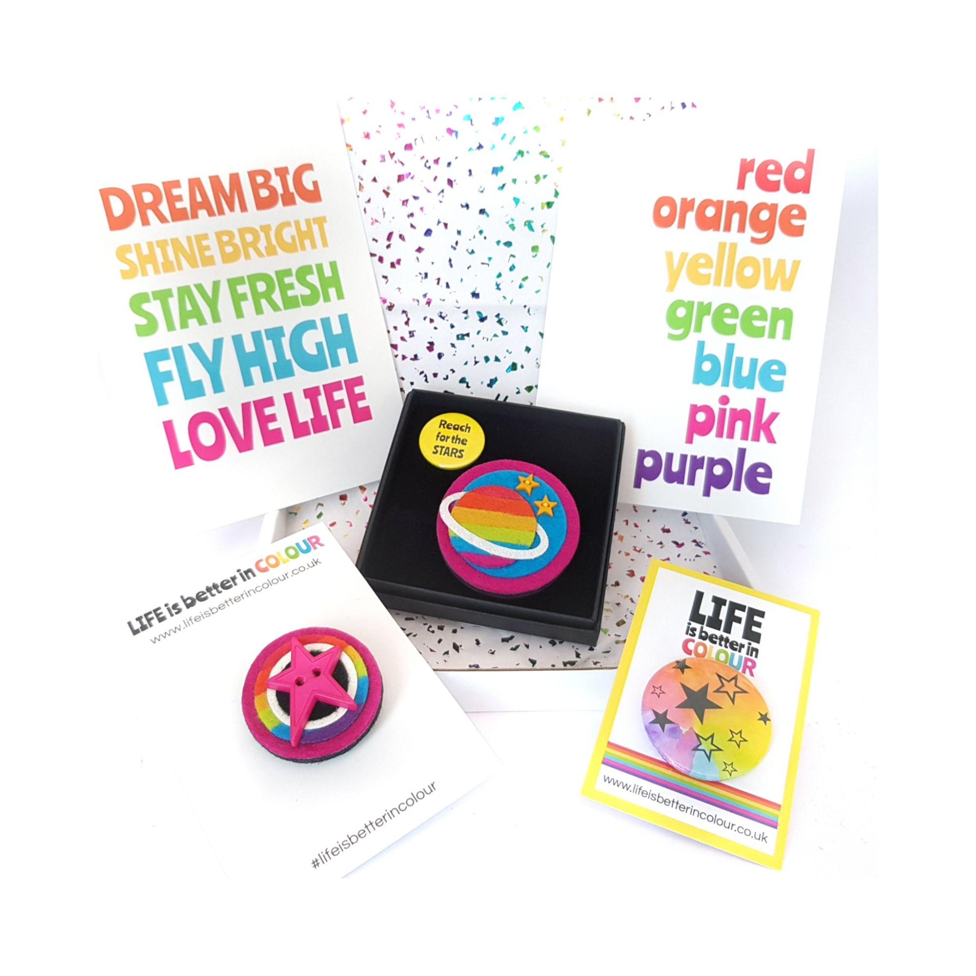 Rainbow Treat Box