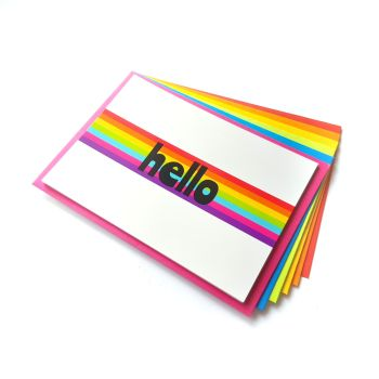 Hello Rainbow Postcard Set