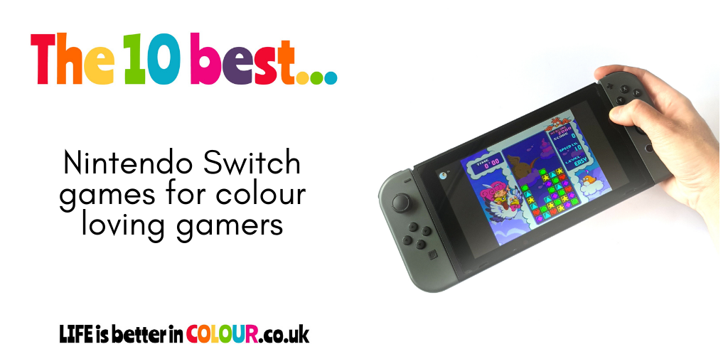 10 best Nintendo Switch Games for colour loving gamers