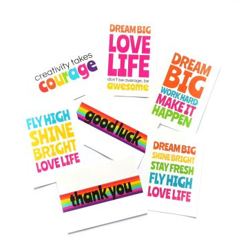 Positive Postcards - Now Available Individually!