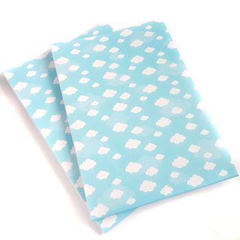 Cloud Print Wrapping Paper - Individual Sheet