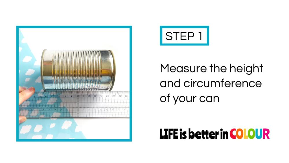 Measuring the Tin Can