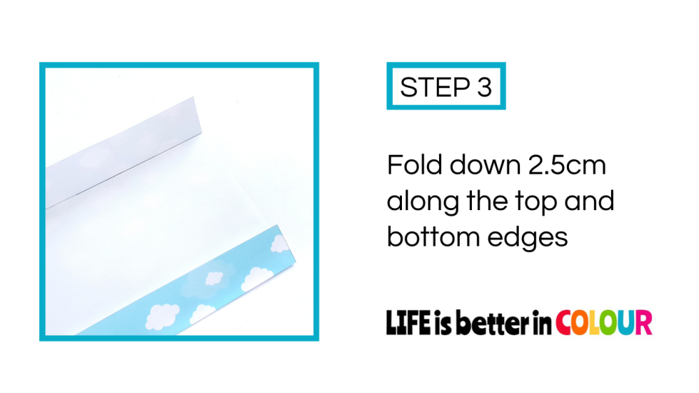 Folded Cloud Wrapping Paper