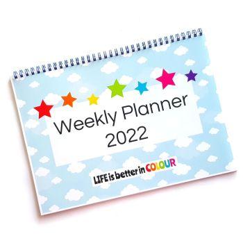 2022 Weekly Planner Calendar