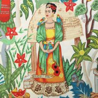Frida's Garden Tea - Alexander Henry Fabric