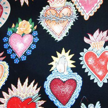 Heart  - Alexander Henry Fabric