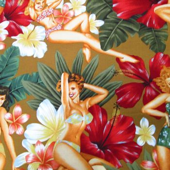 Island Girls - Alexander Henry Fabric