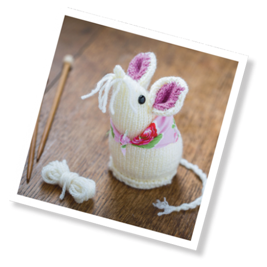 Mouse Knitting Kit
