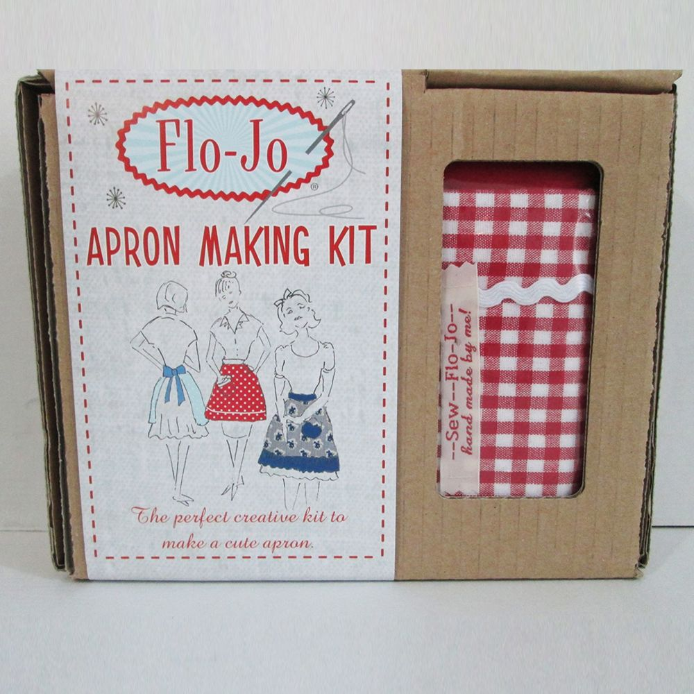 Flo-Jo Apron Kit - Gingham
