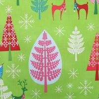 Christmas Fabric - Festive Forest