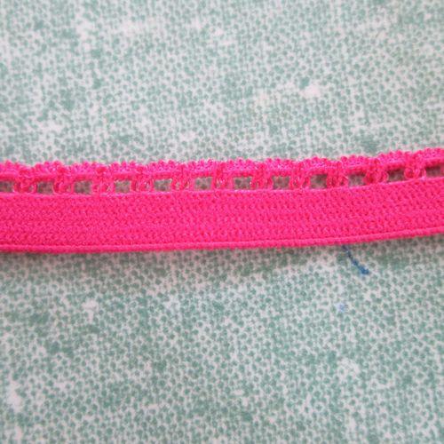Pink Looped Elastic