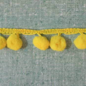 Yellow Pom Poms