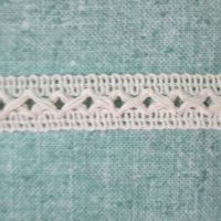 Cream Crochet Trim