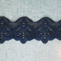 Stretch Lace - Navy