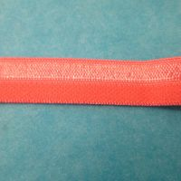 Fold over elastic - pink