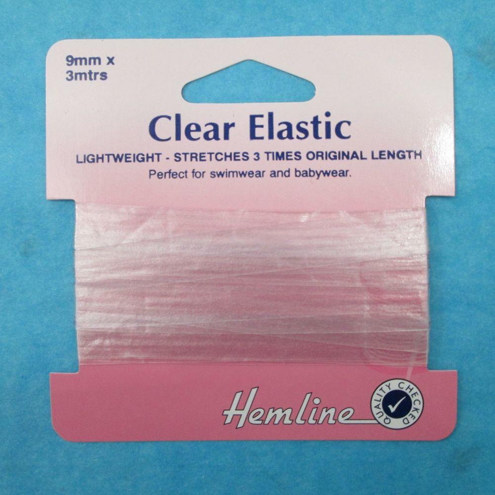 Hemline Clear Elastic