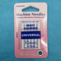 Hemline Machine Needles - Heavy