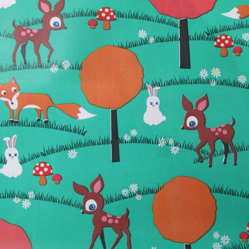 Oilcloth - Woodland